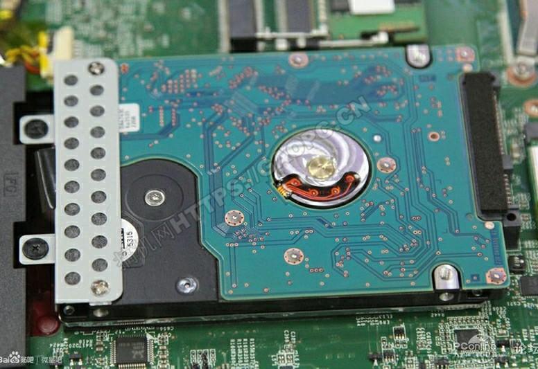 微星gl62 6qd 021xcn拆机 Sata机械硬盘特写
