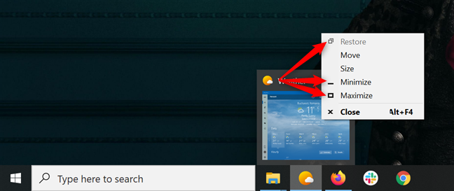 在Windows 10中最小化和最大化应用程序的7种方法