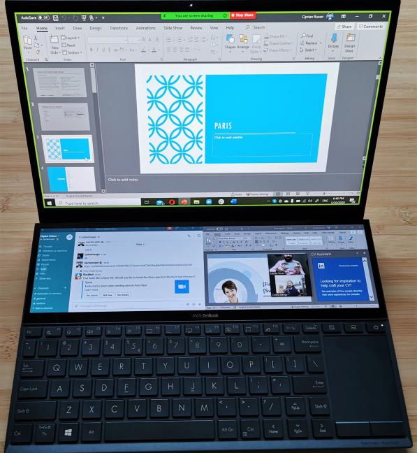 华硕ZenBook Duo测评:这就是为什么它是远程工作的绝佳选择!