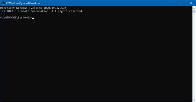 从文件资源管理器中打开命令提示符