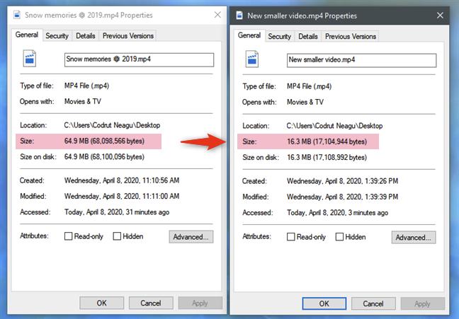 在Windows 10中缩小视频的4种方法