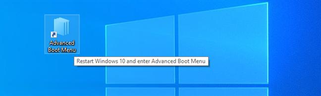 下载 Windows 10 恢复模式环境的快捷方式(高级启动菜单)