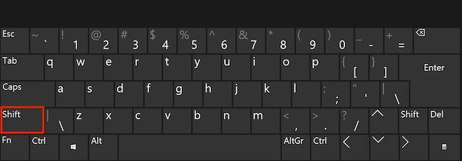 使用Shift键选择文字