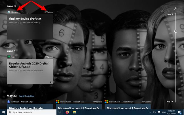 Windows 10时间轴以及如何充分利用它